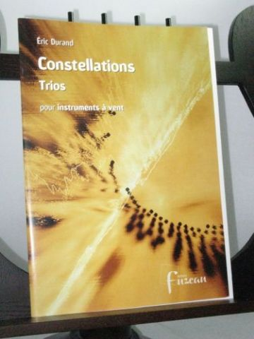 Durand E - Constellations Trios for Wind Instruments